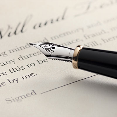 Wills, Estate and Probate